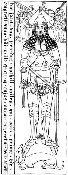Sir Gerard Sothill (1401) Angleterre