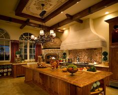 Dream Kitchen..Santa Fe design photos - Google Search