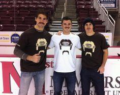 Hershey Bears Movember - Joel Rechlicz, Garrett Mitchell, David Leggio