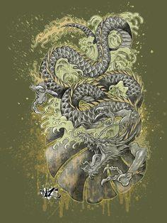 DRAGON DREAMS color by CaziTena.deviantart.com on @deviantART