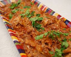 Slow cooker (Roasted Pork Barbacoa)