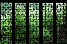 Ancient Chinese garden: Windows by Y. Peter Li Photography, via Flickr