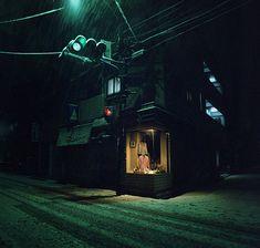 sickpage:  kiev_arsenal23snowy night, 2007