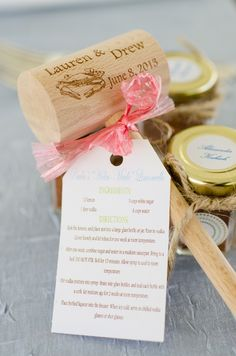 Our favorite favor for a Maryland wedding! | Photo by Mike B Photography