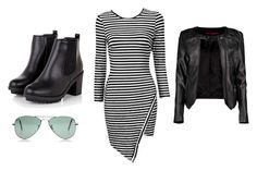 """""""Formal biker outfit"""" by mhbedingfield on Polyvore"""