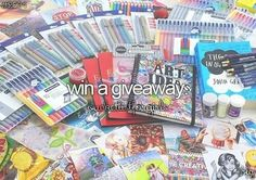 win a giveaway