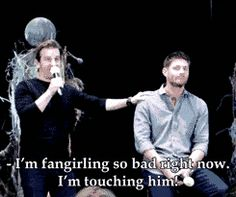 This is why Richard is definitely one of my favorite people. He ties with Jensen and Jared and Misha and like everyone in that cast.