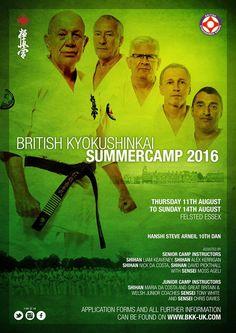 Adult and Junior Summer Camp Hosted by British Kyokushinkai Karate