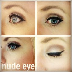nude eye with #naked palette