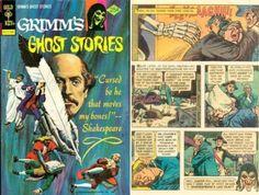 Shakespeare's curse, the comic book.