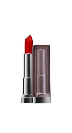 Maybelline Color Sensational Creamy Matte Lip Color in Siren in Scarlet, $8.