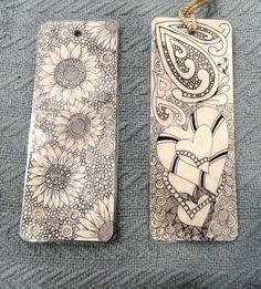 Handmade bookmarks byDrop Stitch Knitter