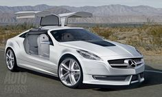 "☆ MB SLK ""GULLWING"" Concept ☆"