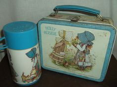 holly hobbie lunch boxes | Vintage Holly Hobbie Lunchbox With Thermos by MemeresAttic on Etsy