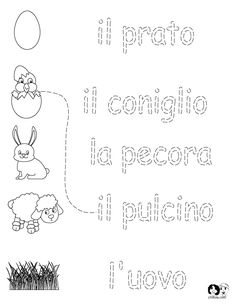 Learn Italian Worksheets - Templates and Worksheets