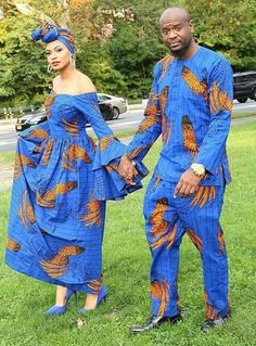 Checkout these Beautiful Ankara Couples Matching Outfit - Ankara collections bri. Checkout these Beautiful Ankara Couples Matching Outfit – Ankara collections brings the latest hi African Fashion Designers, Latest African Fashion Dresses, African Print Fashion, Africa Fashion, Nigerian Fashion, Ankara Fashion, African Prints, Couples African Outfits, African Attire