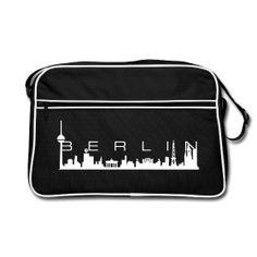 Skyline Berlin Retro Bag - http://iloveberlin.spreadshirt.de/berlin-skyline-retrobag-A10625966