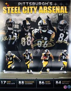 ca169db6c got my bullets... Pittsburgh Steelers Football, Go Steelers, Steelers Stuff,