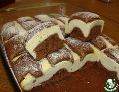 Cottage cheese quilt cookie, soft chocolate pasta and mouth-watering cottage cheese filling! Nobody can resist that! Hungarian Recipes, Russian Recipes, Sweet Pie, Sweet Tarts, Chocolate Pasta, Cake Recipes, Dessert Recipes, Russian Desserts, Best Party Food
