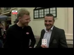 Liam Walsh Magic TV Extract Malta News