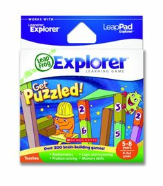 LeapFrog Explorer Learning Game: Get Puzzled! (works with LeapPad & Leapster Explorer) LeapFrog,http://www.amazon.com/dp/B004Z7H2EG/ref=cm_sw_r_pi_dp_DUnLsb18YFZNBEBQ