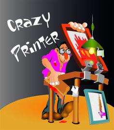 Szalony drukarz