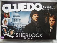 BBC SHERLOCK HOLMES SPECIAL EDITION CLUEDO BOARD GAME