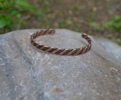 Hardware Store Steel and Copper Bracelet ~ Wire Jewelry Tutorials