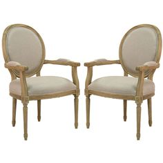 French Medallion Arm Chairs -Pair ($1,685) ❤ liked on Polyvore featuring home, furniture, chairs, fondo, floral chair, medallion chair, floral furniture, floral armchair and plush chair