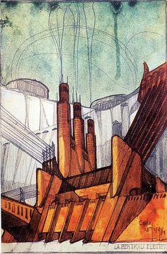 La centrale elettrica, 1914.