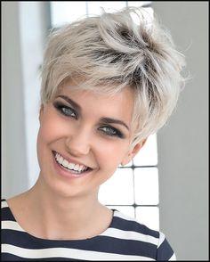 Ultra kurze Frisuren + Pixie Haarschnitte & Haarfarbe Ideen ... | Einfache Frisuren