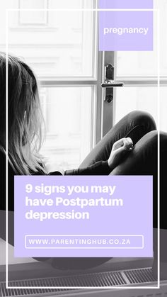 Also known as Postnatal depression, this condition can often be mistaken for something referred to as the ' Baby Blues '. Both of these conditions involve feeling depressed, horrible mood swings and start a few days after giving birth.