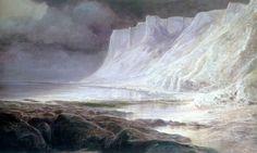 Edward Lear 1818 - 1888  Beachy Head