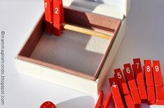 DIY Tutorial Shut the box - super simple. Just follow the pictures.