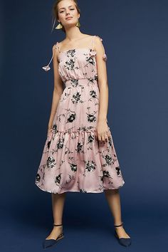 Gandra Tiered Dress #ad #AnthroFave #AnthroRegistry Anthropologie