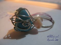 Dancing wires ring