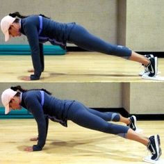 The Best Inner-Thigh Exercises for Women: Scissor Legs Plank - Personal Trainers Reveal the Best Inner-Thigh Exercises for Women - Shape Magazine