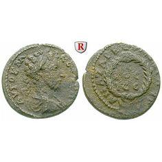 Römische Provinzialprägungen, Kilikien, Anazarbos, Commodus, Assarion 180/181 (Jahr 199), ss: Kilikien, Anazarbos. AE-Assarion 21 mm… #coins