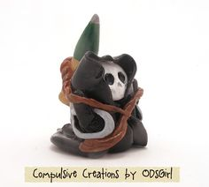 One Miniature Baby Grim with 105 by ODsGirl on Etsy, $5.00