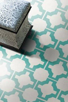 Neisha Crosland tiles, vinyl tile
