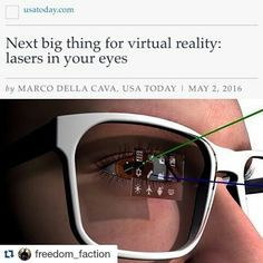 An awesome Virtual Reality pic! #Repost @freedom_faction with @repostapp…