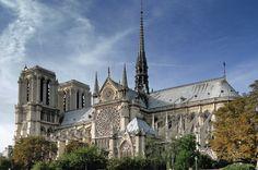 notre dame | Notre Dame de Paris, southern facade