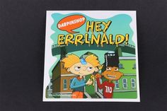 Here's a great #Nickelodian parody slap! Hey Errlnald! #Dreamofthe90s #HeyArnold !