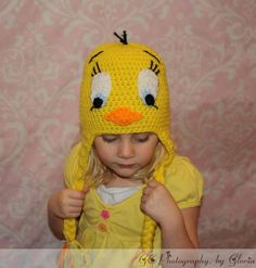 This is a pattern not an actual product  >>>>>>>>>>>>>>>>>>>>>>>>>>>>>>    I tought I taw a puddy tat =)    Who doesnt love tweety ? =0) This pattern comes in newborn to Adult sizes.   This is saved in a PDF file and will be sent to your email.    Come join in the fun at my shop on Face book    @http://www.facebook.com/pages/Glows-crochet-creations/198787910157936#!/pages/Glows-crochet-creations/198787910157936    This design, a written work and images are a copyright of  ©Glows crochet…