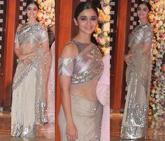 Designer blouse designs for net sarees