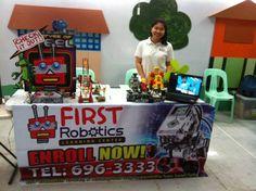First Robotics booth <3