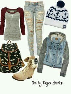 Exelente outfit para otoño-invierno