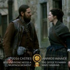 """Outlander Cast on Twitter: """"#Outlander Casties Best """"Everyone Needs a Murtagh Moment"""" is the offer to marry Mary!"""