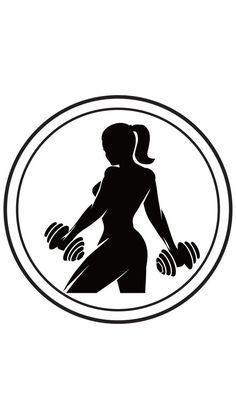 The Female Fitness Bible em 2020 Logotipo de academia Ideias instagram Ilustrações gráficas