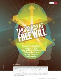 Neuroscience vs philosophy: Taking aim at free will : Nature News